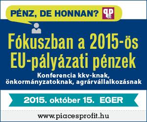 Fókuszban a 2015-ös EU-pályázati pénzek
